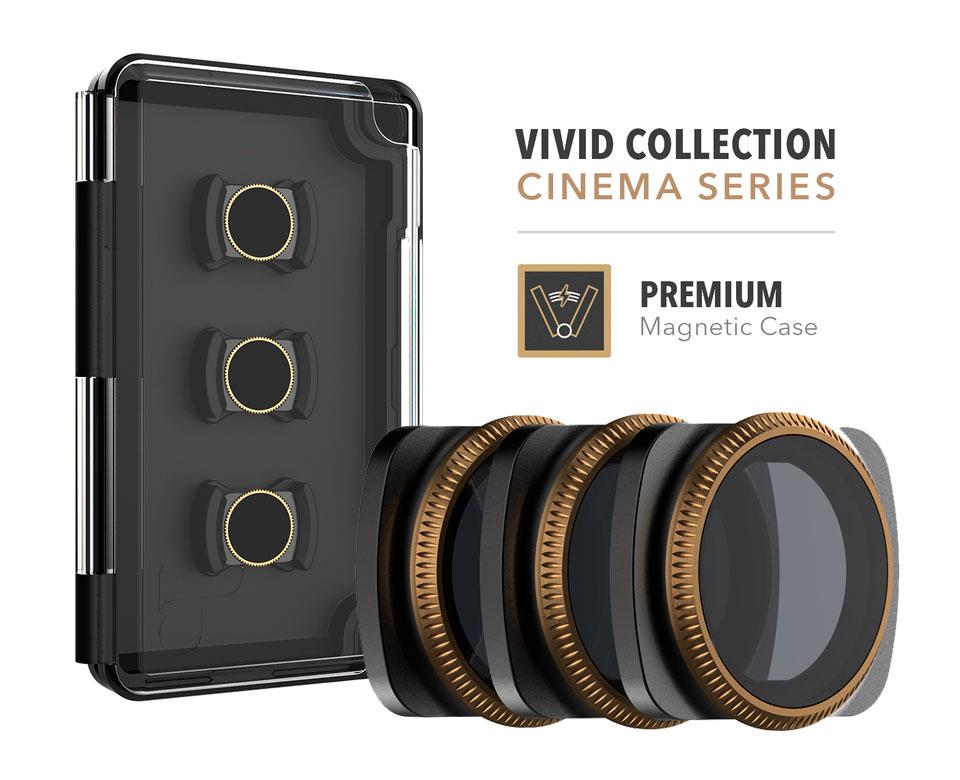 PolarPro Filtri Vivid  Collection 3-Pack per DJI Osmo Pocket