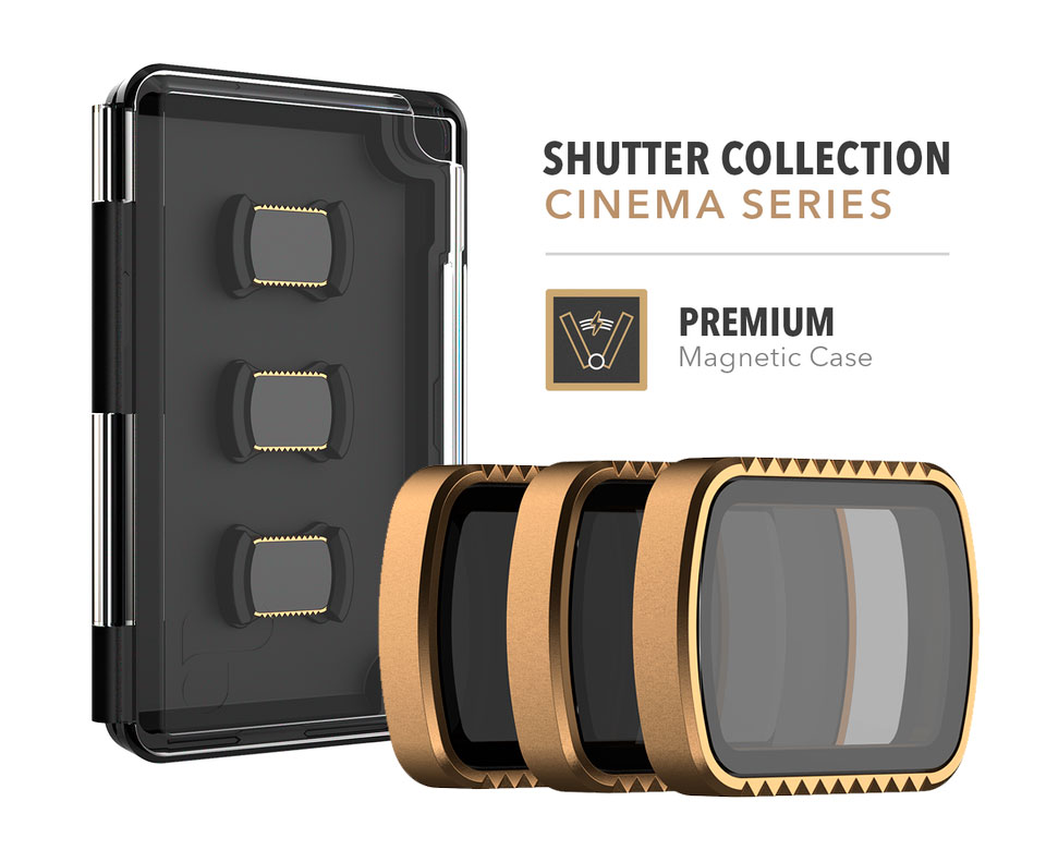 PolarPro Filtri Shutter Collection 3-Pack per DJI Osmo Pocket