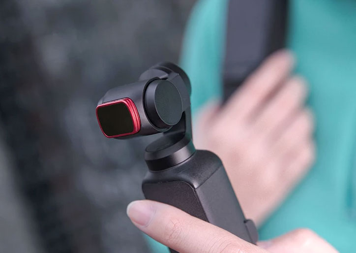 PGYTECH 3-Pack Filtri ND e PL per DJI Osmo Pocket