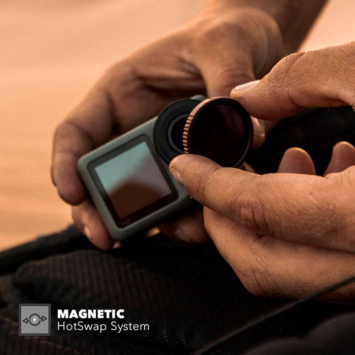 PolarPro filtro polarizzatore circolare per DJI Osmo Action