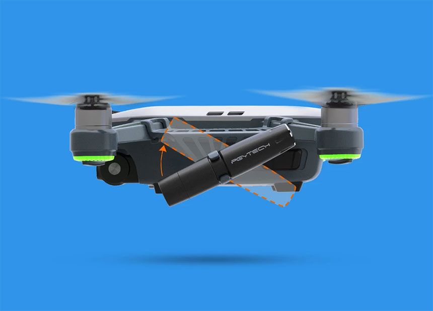 luci per drone dji spark