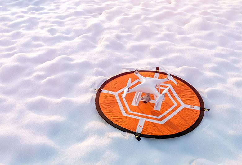landing pad atterraggio droni