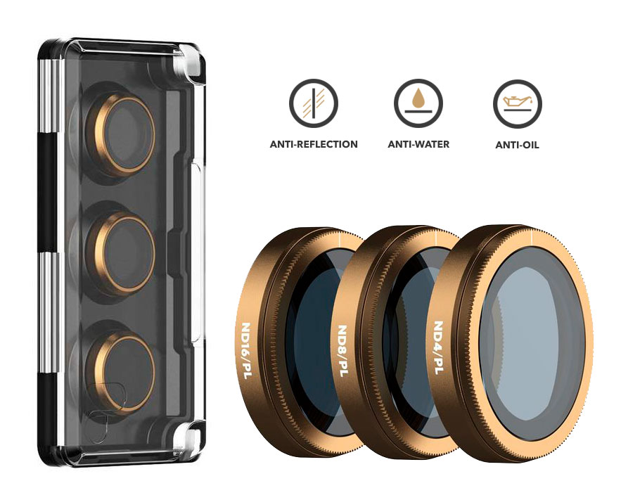 PolarPro Filtri Shutter Collection 3-Pack per DJI Mavic 2 Zoom