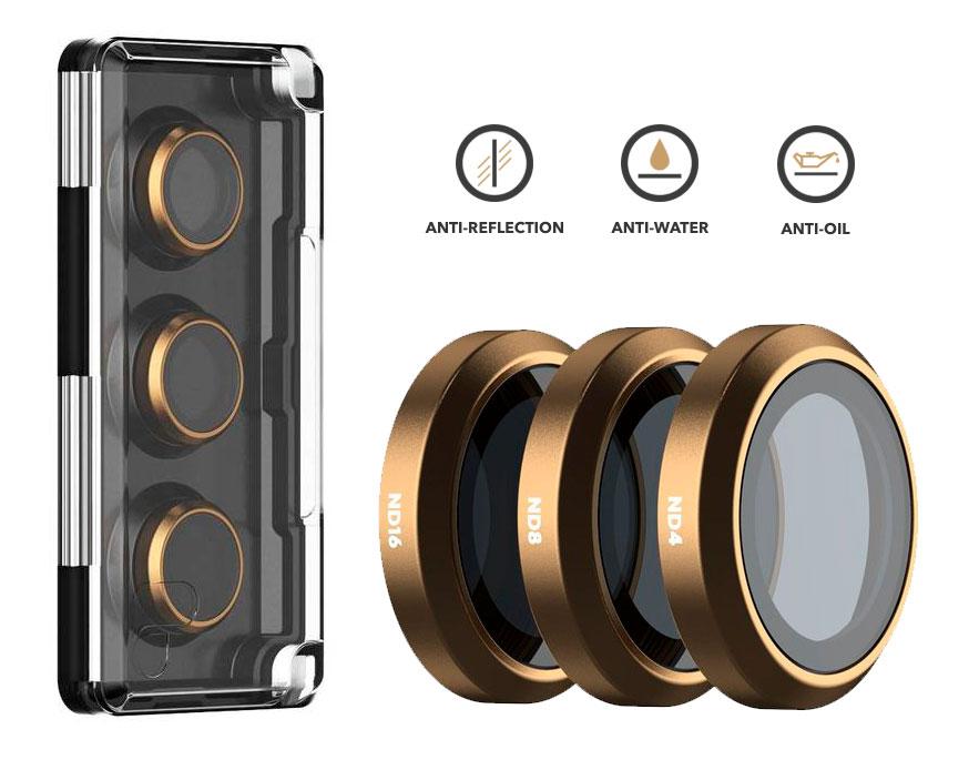 PolarPro Filtri Shutter Collection 3-Pack per DJI Mavic 2 Zoom