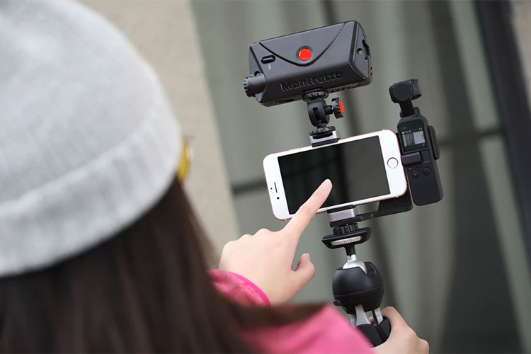 supporto smartphone DJI Osmo Pocket