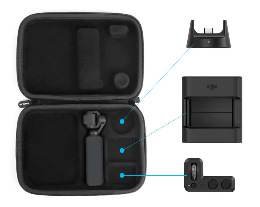 Travel Case per DJI Osmo Pocket