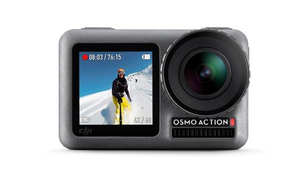 videocamera dji osmo action