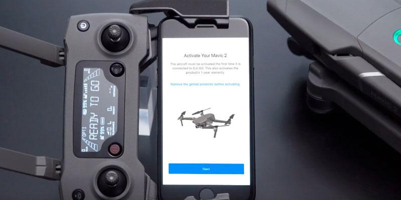 dji mavic 2 video tutorial come attivare il drone