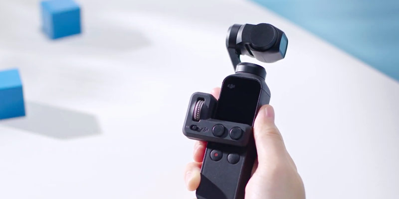 dji osmo pocket video tutorial utilizzo controller