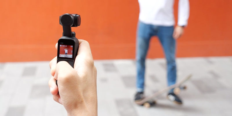 dji osmo pocket video tutorial active track