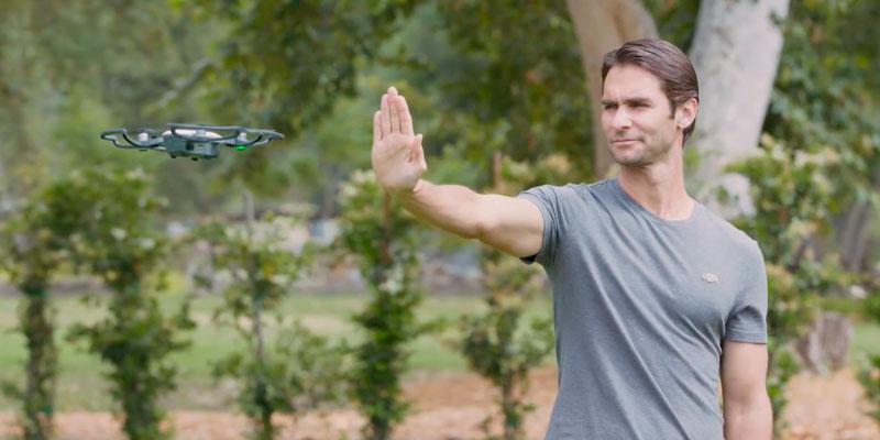 dji spark video tutorial gesture