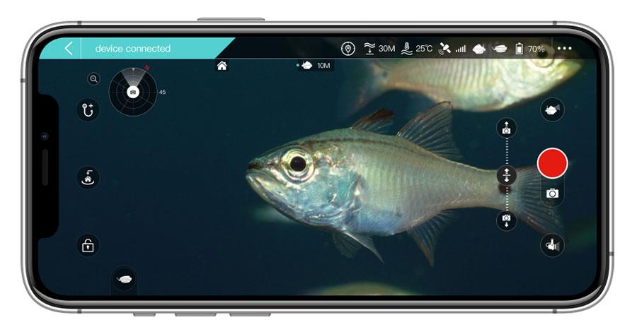 Chasing F1 Drone Subacqueo per la pesca