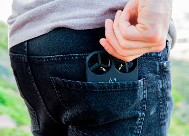 mini drone tascabile AirSelfie AIR PIX