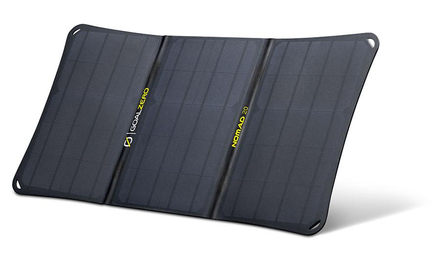 goal zero nomad 20 pannello solare