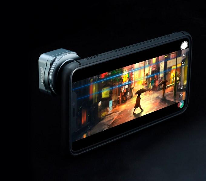 ULANZI Lente Anamorfica 1.33X per Smartphone 17mm