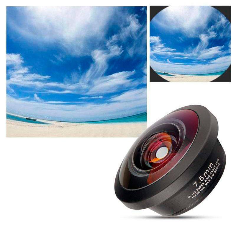 ULANZI Lente Fisheye 7.5mm per smartphone