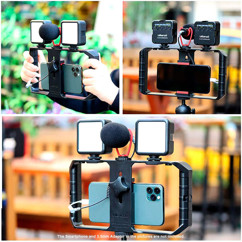 ULANZI Vlogger Professional Kit per Smartphone