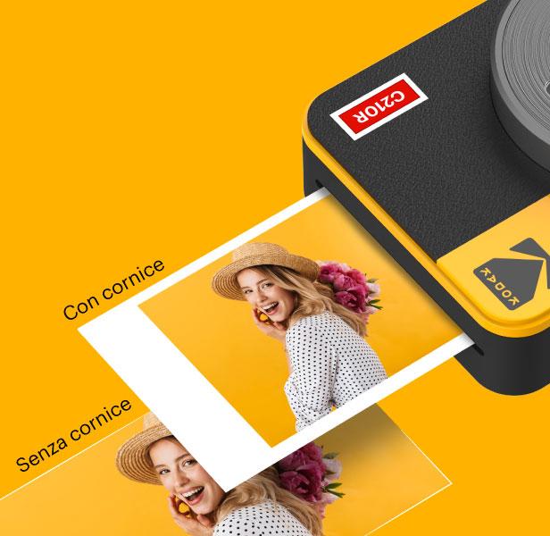 Kodak MINI SHOT COMBO 2 fotocamera a stampa istantanea