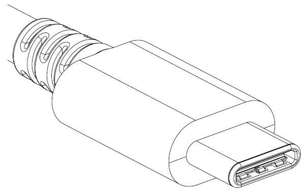 GoPro HERO 5 Black ingresso USB-C