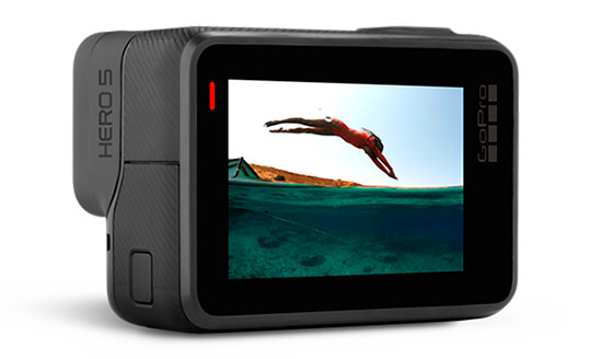 GoPro HERO 5 Black Display Touch