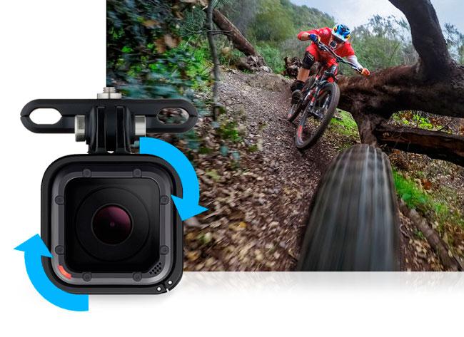 GoPro HERO 5 Session capovolgimento automatico.