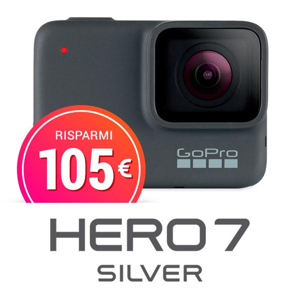 acquista gopro hero7 silver