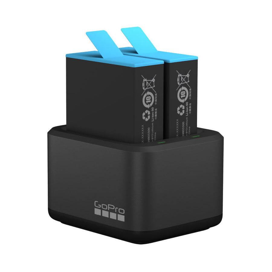 GoPro Caricabatteria doppio per HERO9 Black