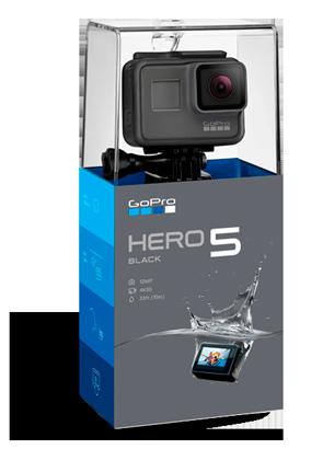 caratteristiche gopro hero5 black