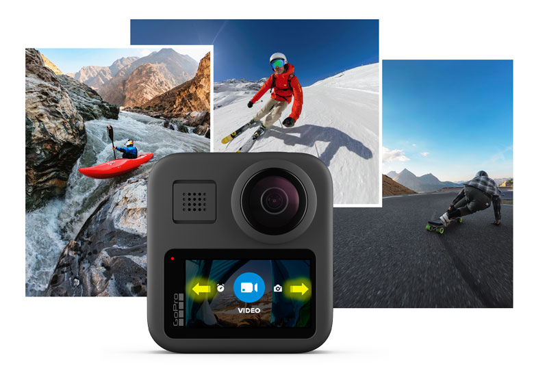 gopro max lcd touchscreen
