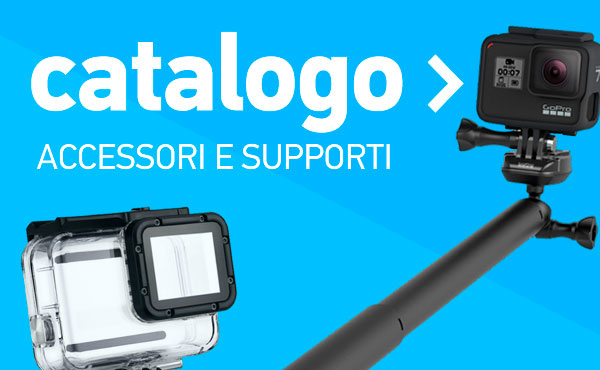 catalogo accessori e supporti gopro