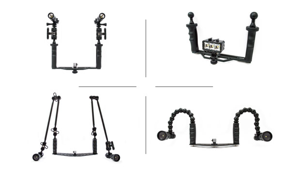 kit camera arm subacquea gopro
