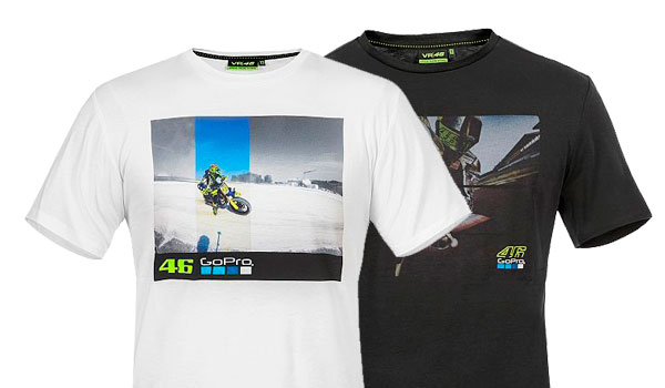 VR46 GoPro T-Shirt Ufficiale