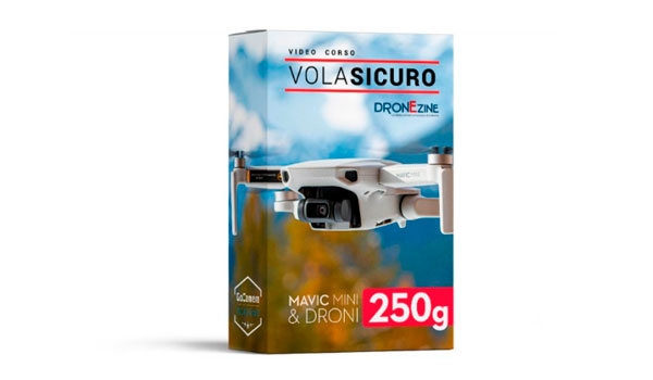 Video Corso VolaSicuro Mavic Mini e Droni 250g