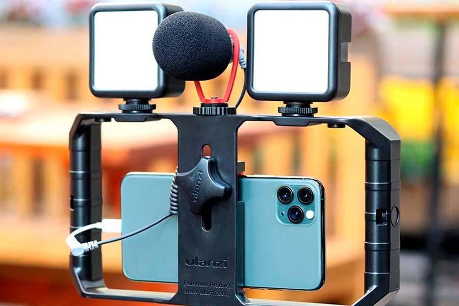 vlogging kit smartphone