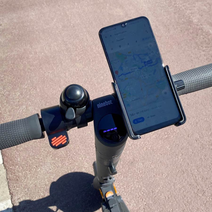 Ninebot by Segway KickScooter Supporto Smartphone