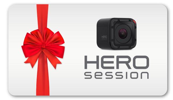 Regala una GoPro HERO Session