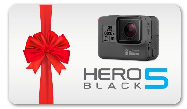 Regala una GoPro HERO5 Black
