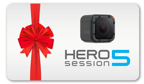 Regala una GoPro HERO5 Session