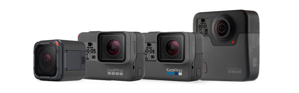 catalogo videocamere gopro