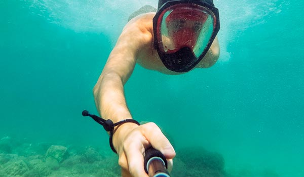Maschere subacquee gopro