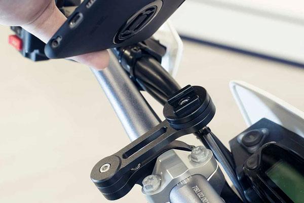 sp connect supporto moto