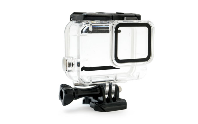 >GoCamera Dive Case 45m per GoPro HERO7 Silver e White