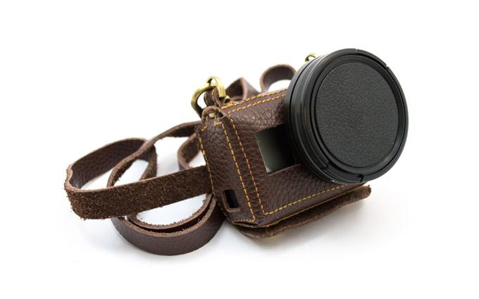 GoCamera HipCase in Cuoio per GoPro HERO5 Black