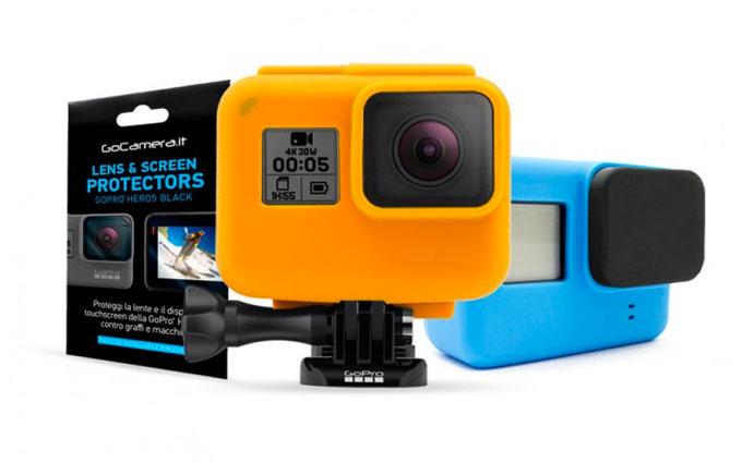 GoCamera Kit di Protezione per GoPro HERO6/HERO5 Black/HERO