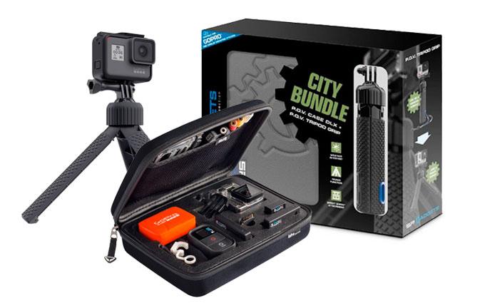 SP City Bundle Pack con Valigia e Treppiede per GoPro
