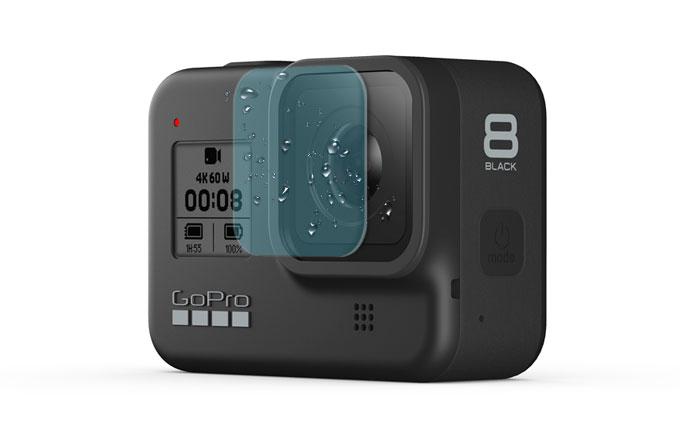 XClear pellicole idrorepellenti per GoPro HERO8 Black