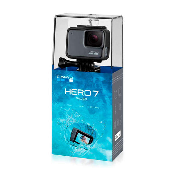videocamera gopro hero7 silver