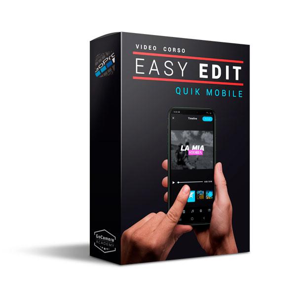 Video Corso Quik Mobile Easy Edit
