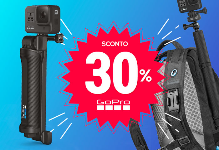 sconti accessori originali gopro