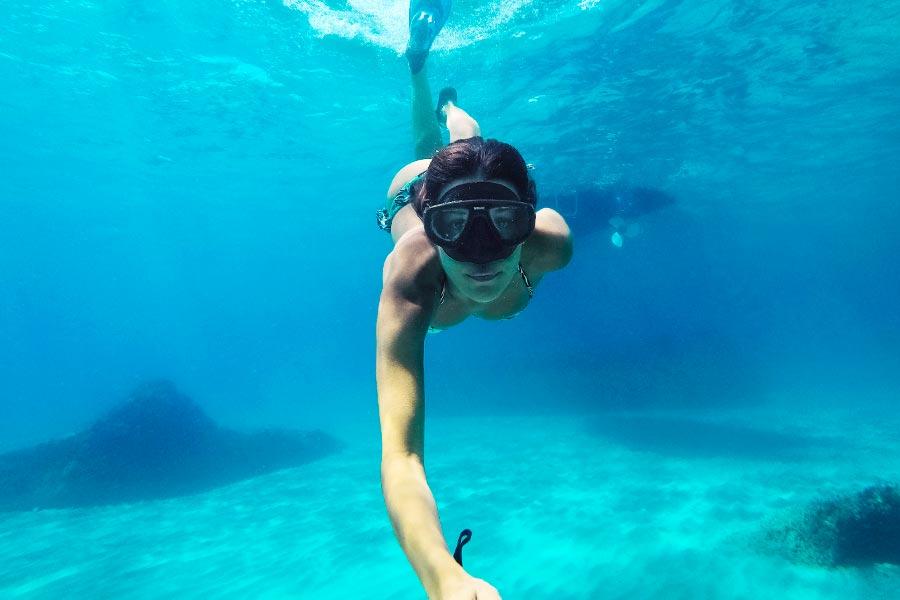 sconti gopro accessori snorkeling